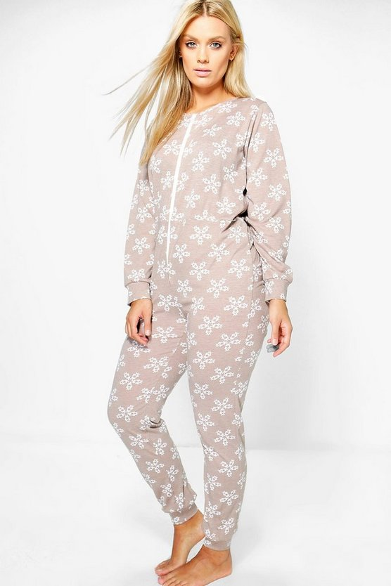 Plus Harriet Snowflake Onesie