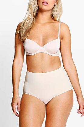 Plus Nicole No VPL Highwaist Light Control Brief
