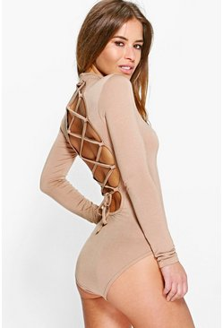 Petite Sophia Turtle Neck Strap Back Body