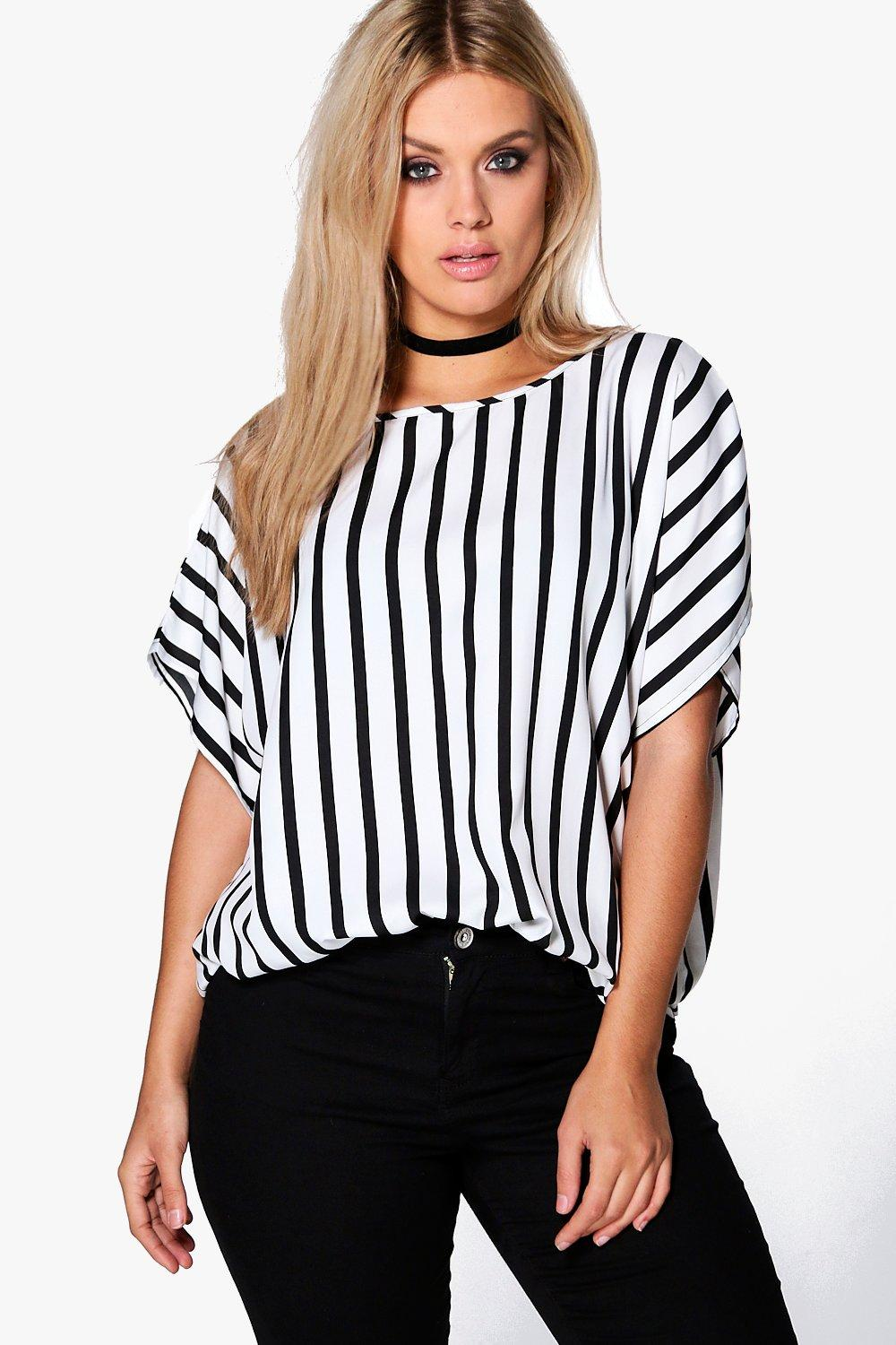 Plus Miranda Striped Tunic