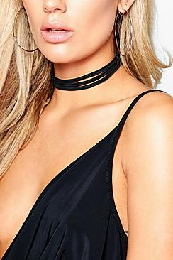 Plus Amy Multi Layered Choker