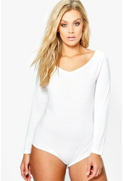 Plus Sophie Long Sleeve Bodysuit