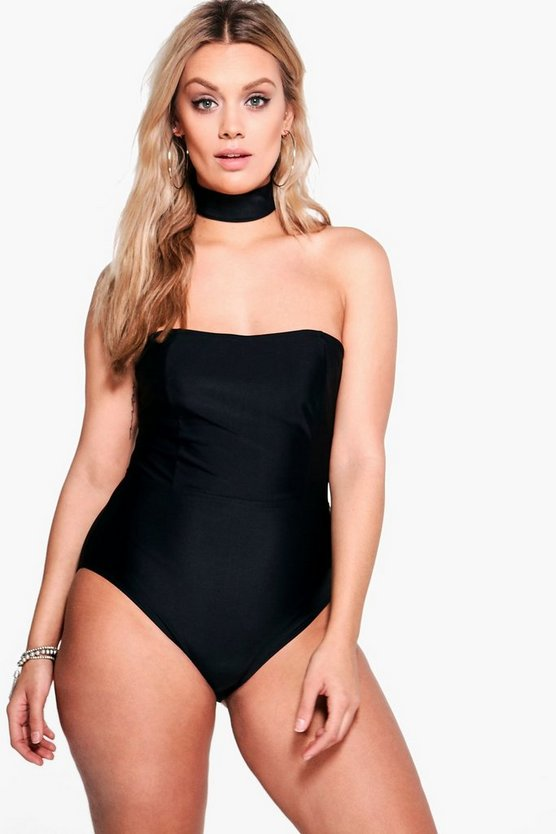 Plus Emma Choker Swimsuit