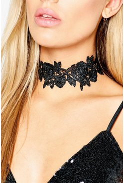 Plus Gemma Lace Detail Choker