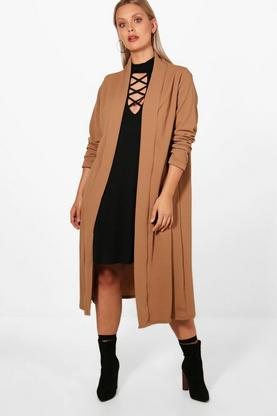 Plus Lexi Waterfall Duster