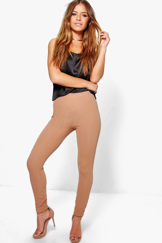 Ella Skinny Turn Up Cuff Trouser sand