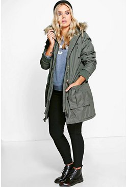Plus Jodie Hooded Parka