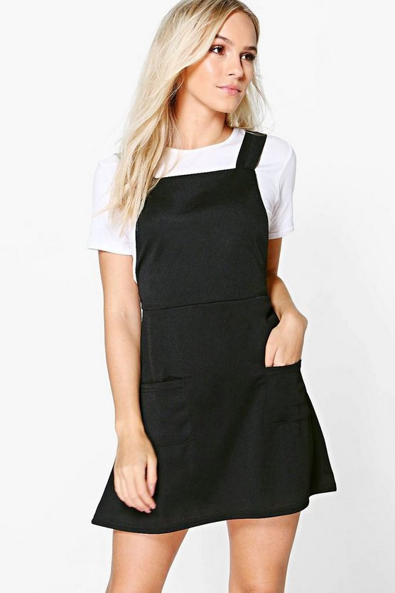 Petite Martha Pinafore Dress