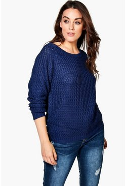Plus Caroline Knitted Jumper