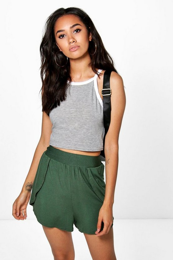 Petite Willow Jersey Runner Shorts
