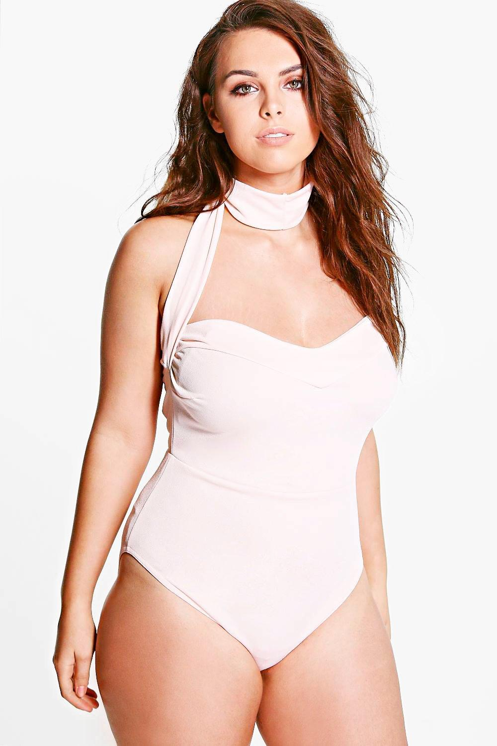 Plus Rezy Strappy Neck Body