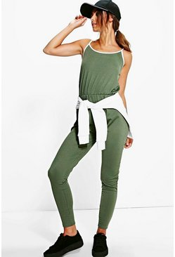 Petite Naya Sport Tipped Jumpsuit