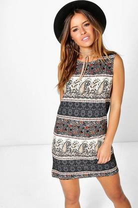 Petite Amira Sleeveless Shift Dress