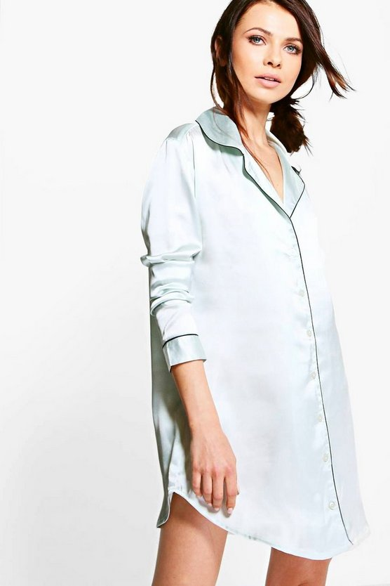 Petite Bailey Shirt Night Dress