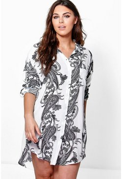 Plus Tamsin Oversized Shirt