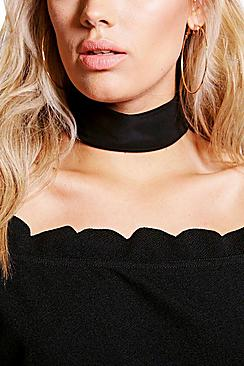 Plus Bianca Wide Slinky Choker