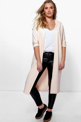 Plus Lottie Collarless Duster