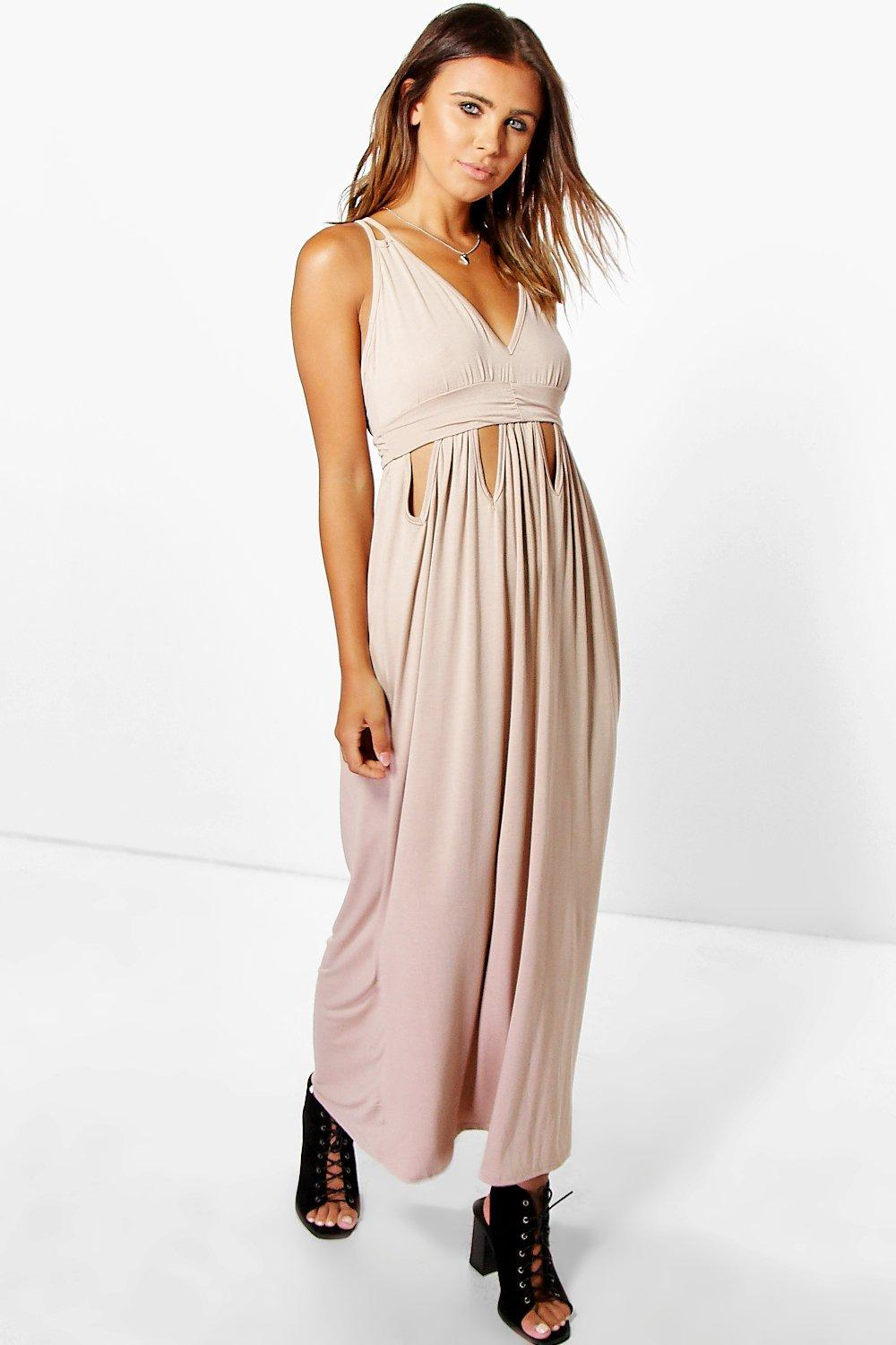 Petite Diana Keyhole Detail Maxi Dress