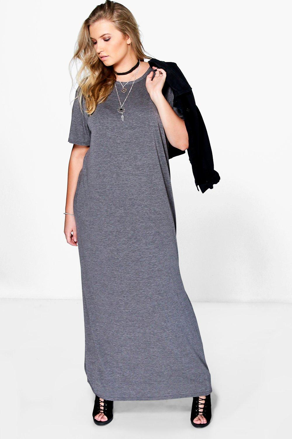 Plus Elisa T-Shirt Maxi Dress