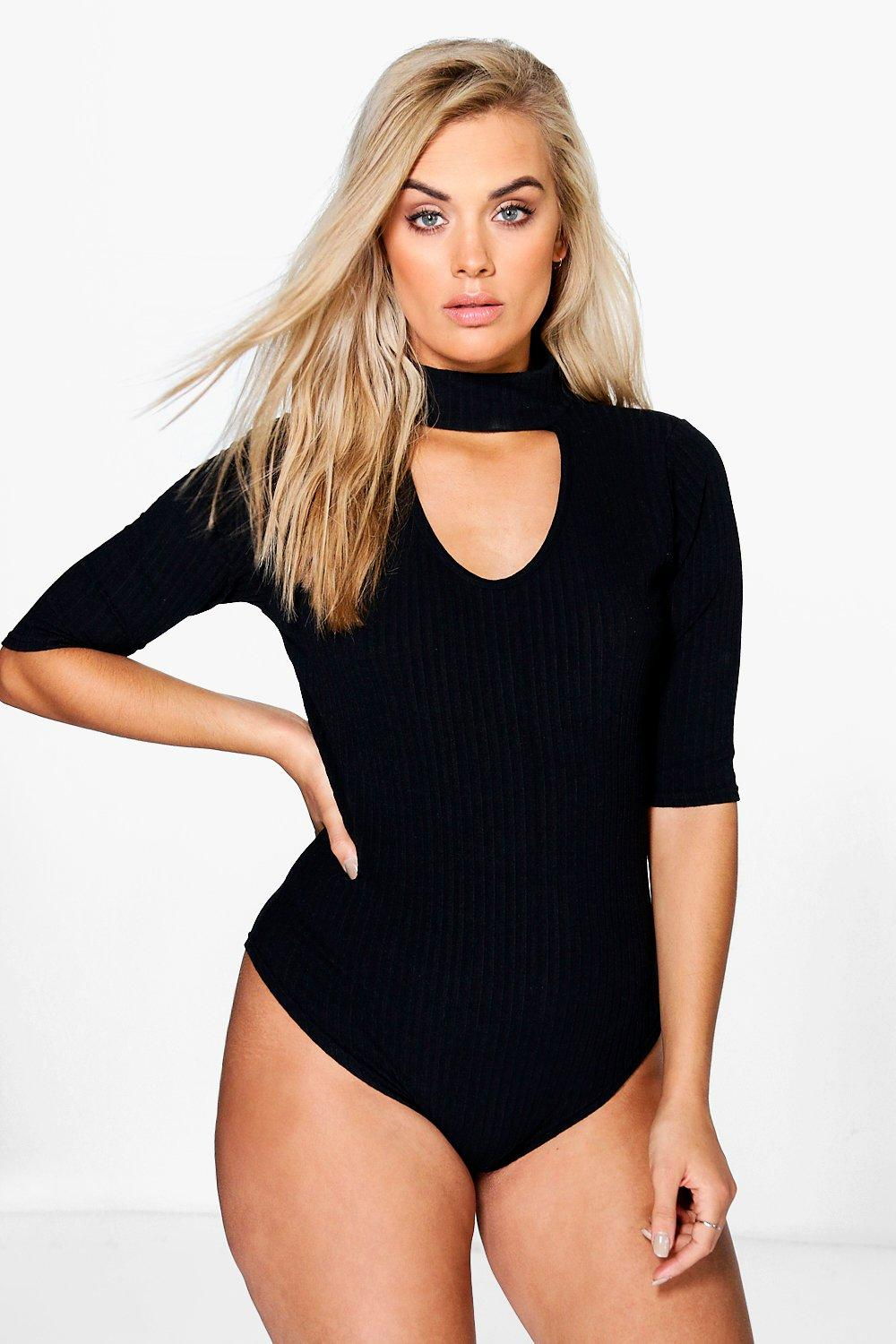 Plus Cally Cut Out Bodysuit