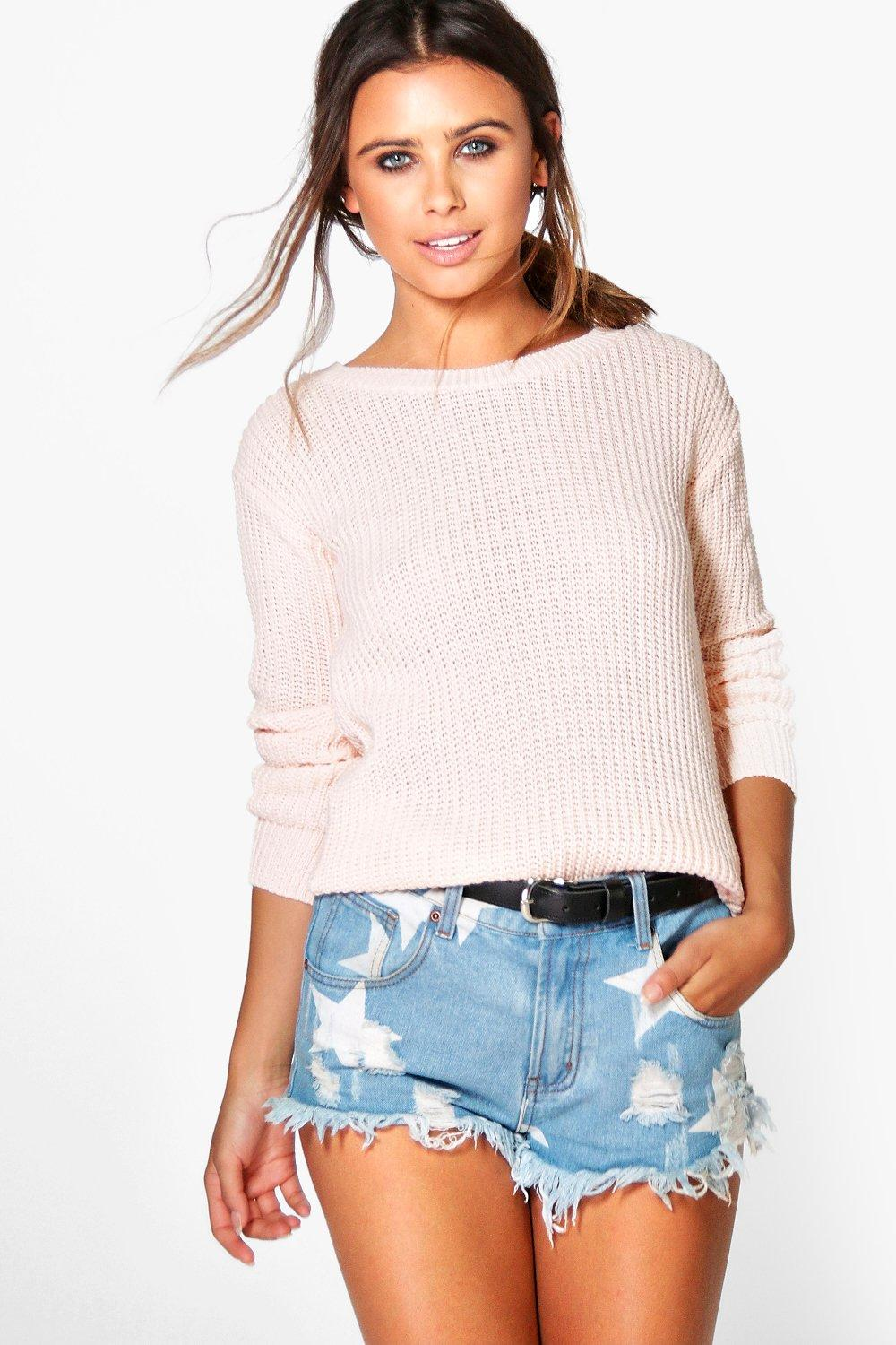 Petite Trixie Oversized Jumper