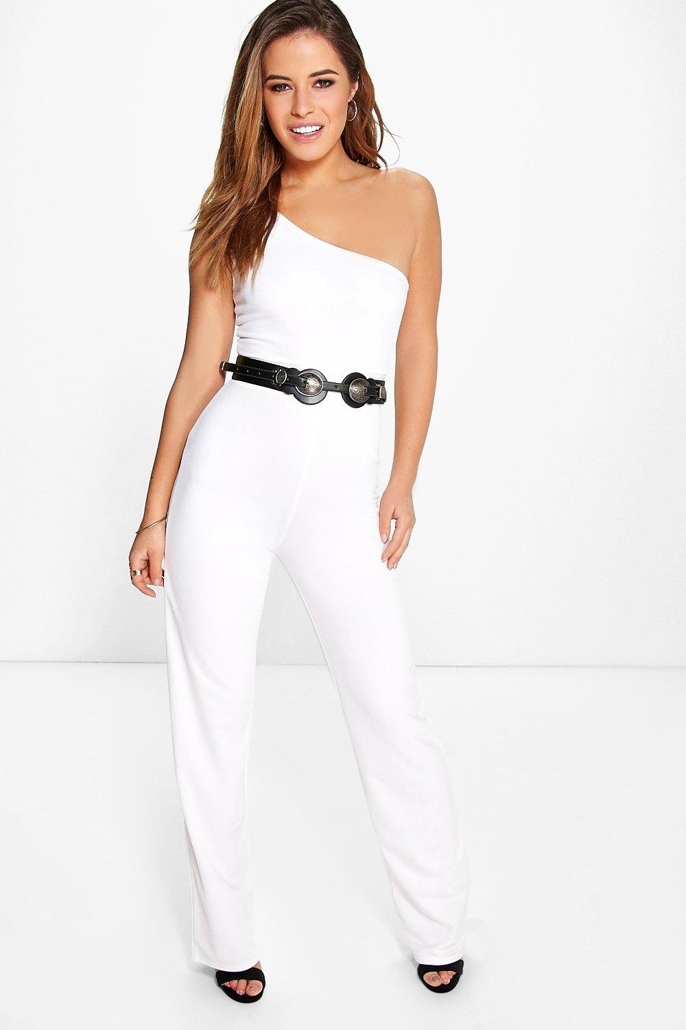 Petite Penny One Shoulder Jumpsuit