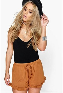 Plus Julieta Frill Hem Flippy Short