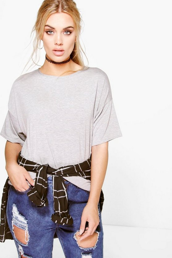 Plus Carys Oversize Basic Tee