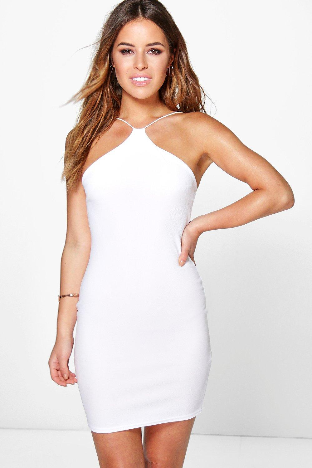 Petite Rebecca Strappy Bodycon Dress