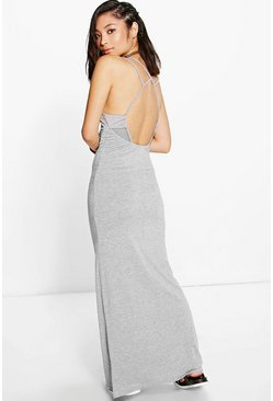 Petite Ruby Strappy Back Maxi Dress