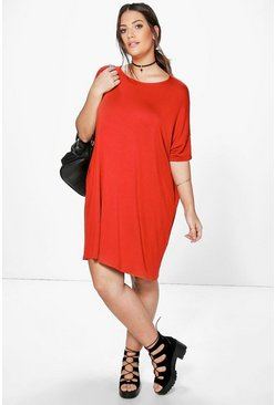 Plus Tina Oversized T-Shirt Dress