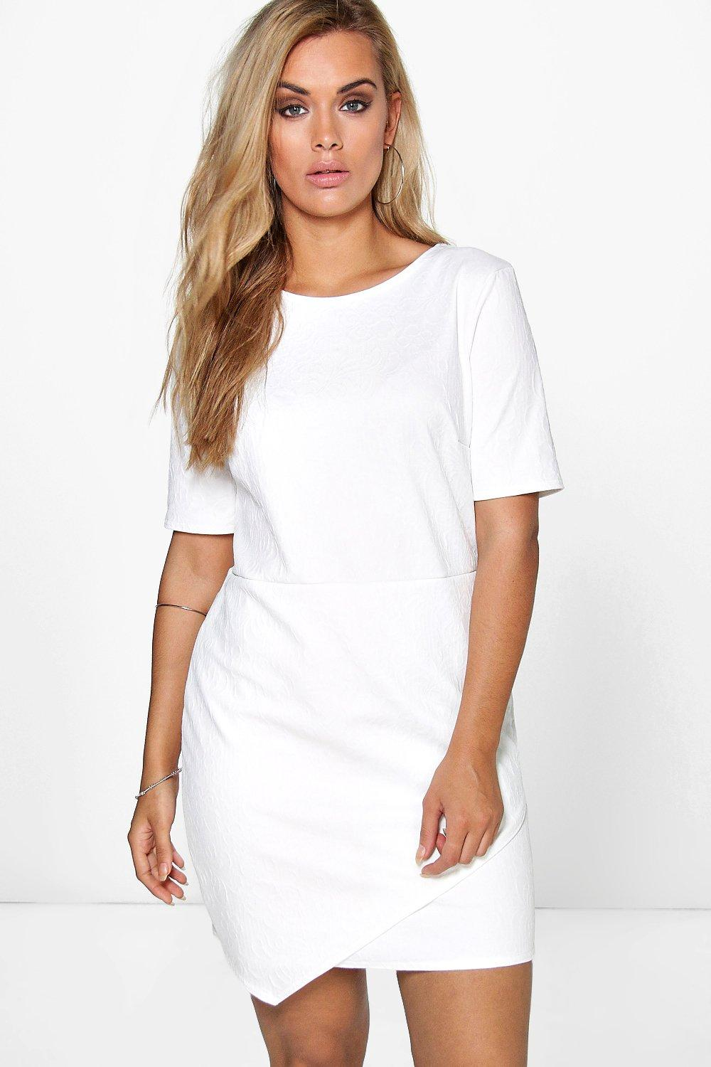 Plus Lucy Asymmetric Dress