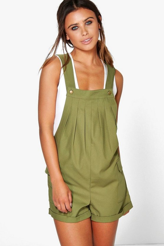 Petite Donna Utility Pocket Side Dungaree