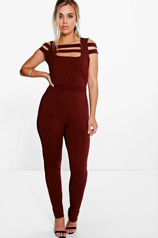 Plus Grace Strappy Detail Jumpsuit