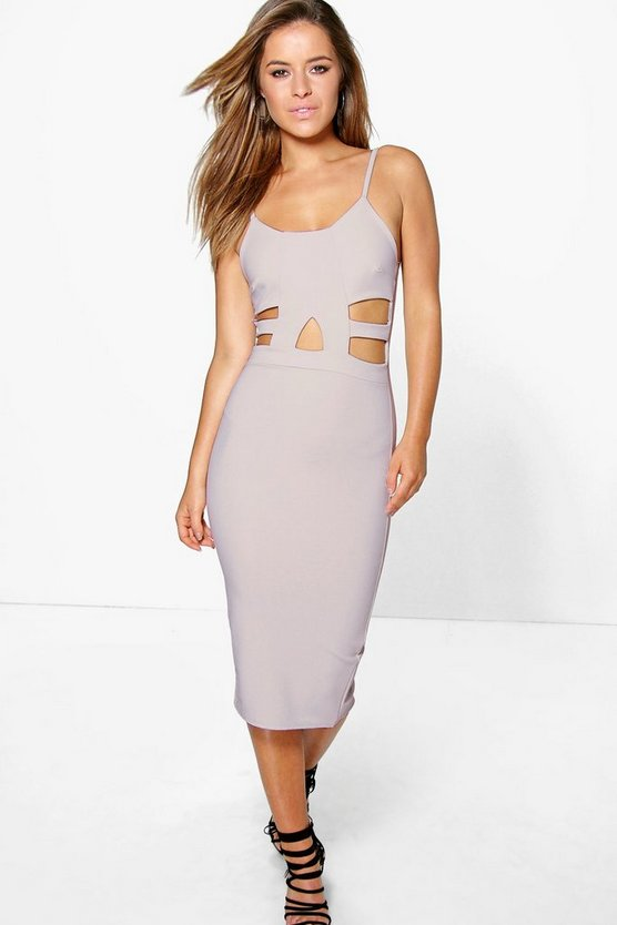 Petite Darcy Cutout Detail Midi Dress