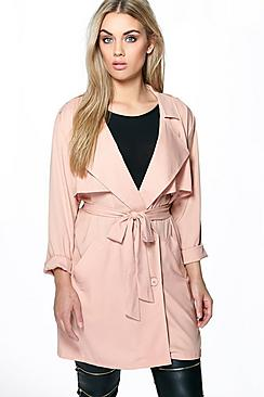 Plus Lexi Waterfall Trench