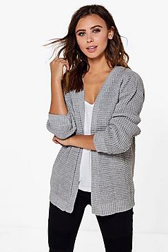 Petite Lily Edge To Edge Waffle Knit