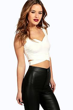 Petite Sally Cut Out Bralet