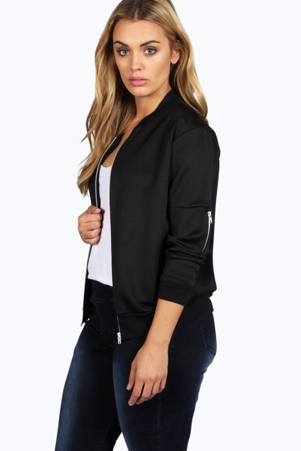 Plus Lucy MA1 Bomber Jacket