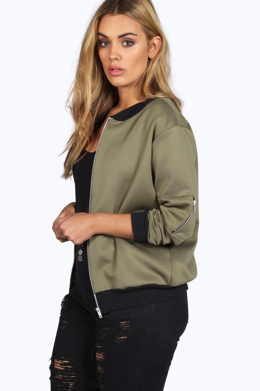 Lucy MA1 Bomber Jacket khaki