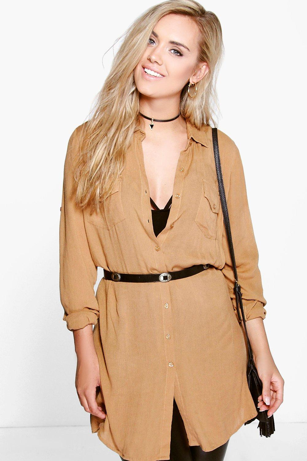 Plus Lucy Oversize Shirt