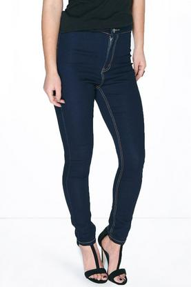 Petite Sarah Disco Jean With Contrast Stitch