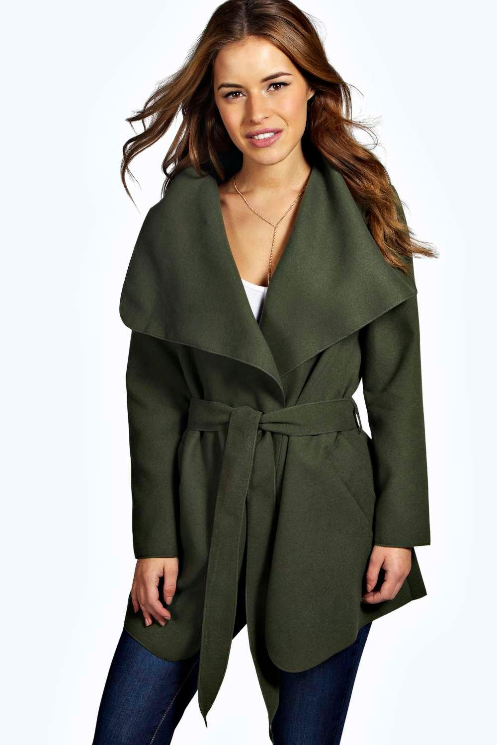 Petite Charlotte Waterfall Coat