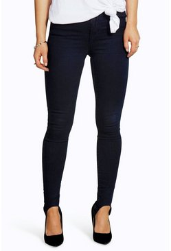 Petite Laura Stir-Up Skinny Jeans