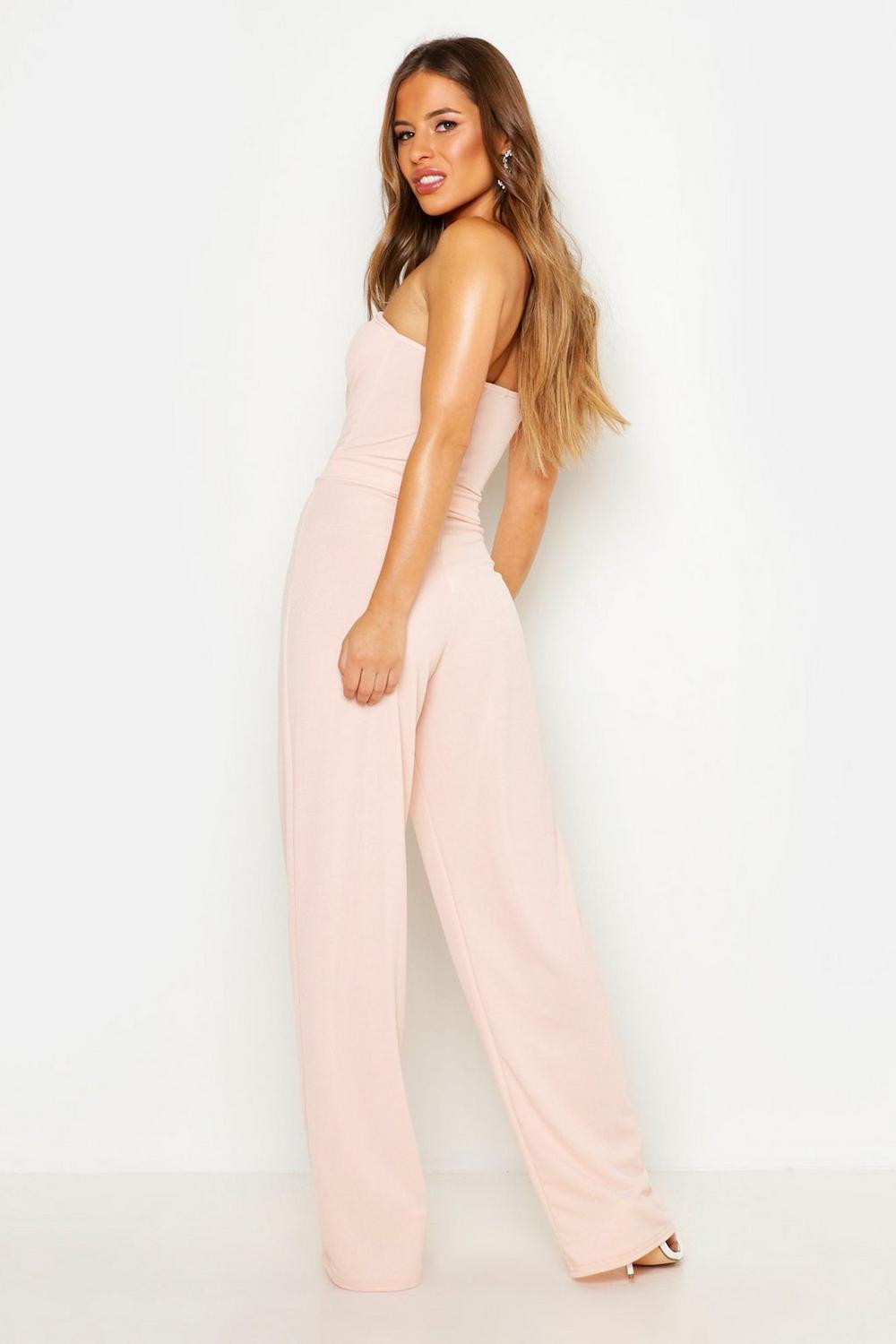 Popular ASOS Petite  ASOS PETITE Jumpsuit With Wrap Collar And D Ring Belt At