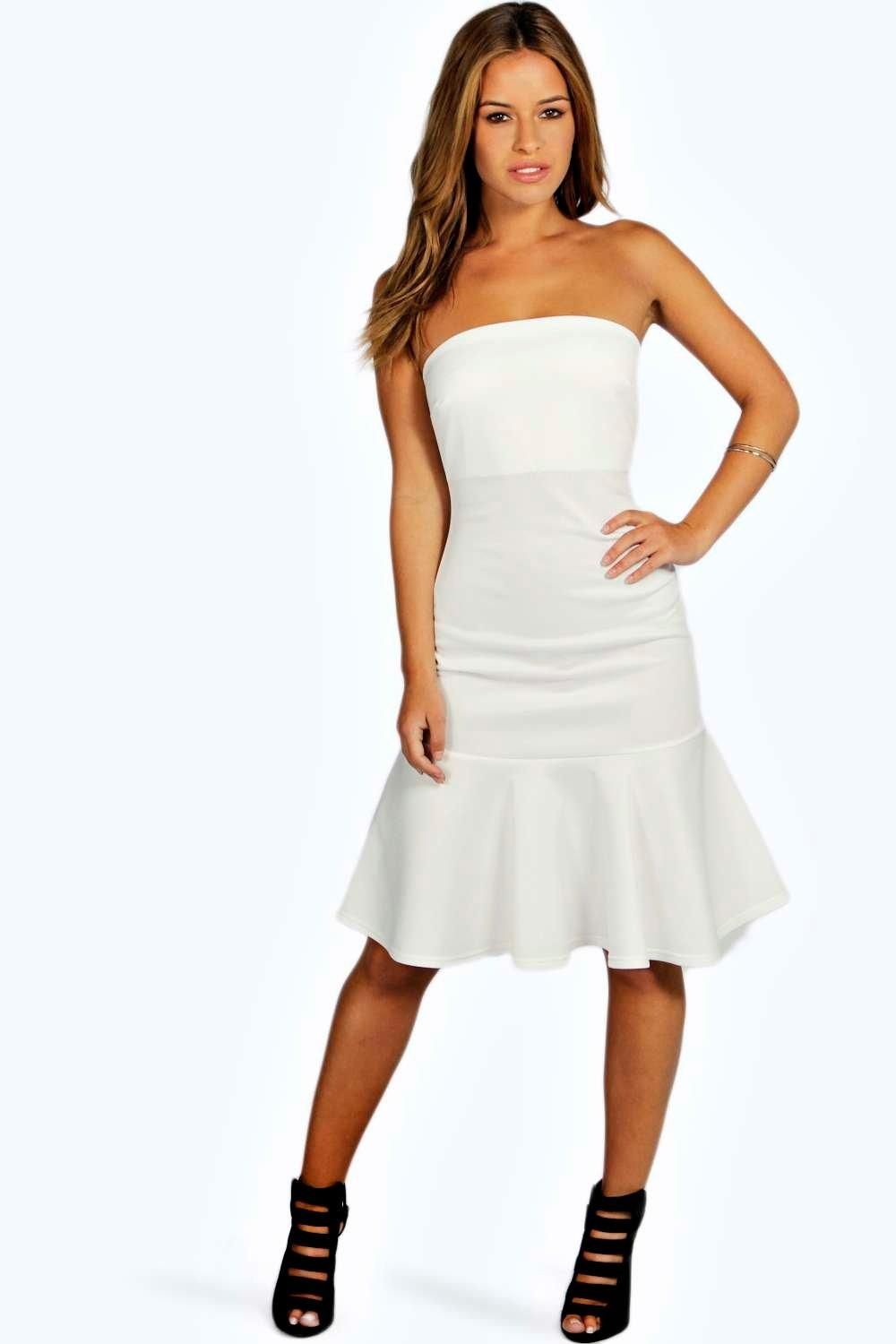 Petite Michelle Fishtail Midi Dress
