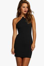 cheap plain black strapless dress « Bella Forte Glass Studio
