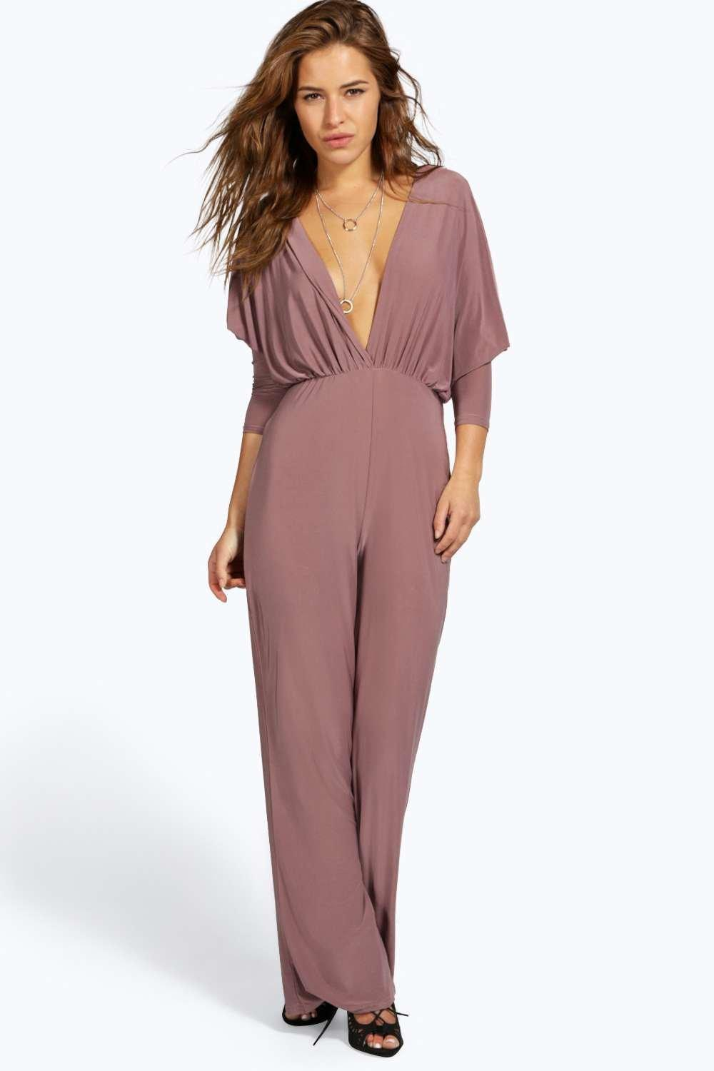 Excellent Asos Collection Asos Petite Exclusive Jumpsuit With Cross Back In