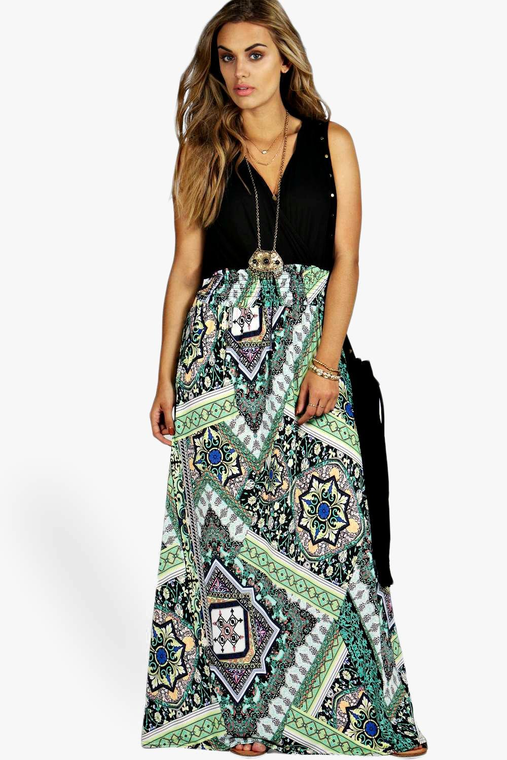 Maxi dress boohoo