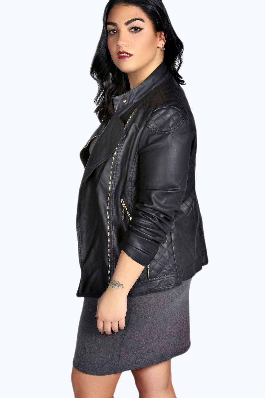Leather jacket boohoo - Leather Jacket Boohoo 10